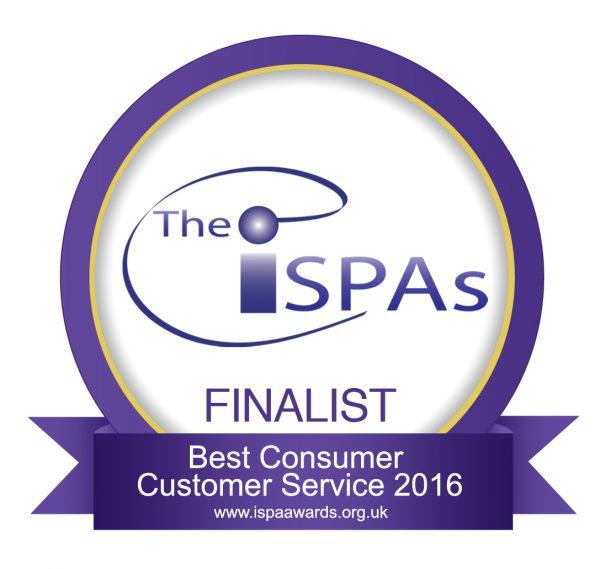 ISPA - Best Consumer Customer Service 2016