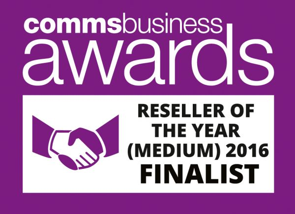 Comms Business Awards - Reseller of the Year (Mediium) 2016