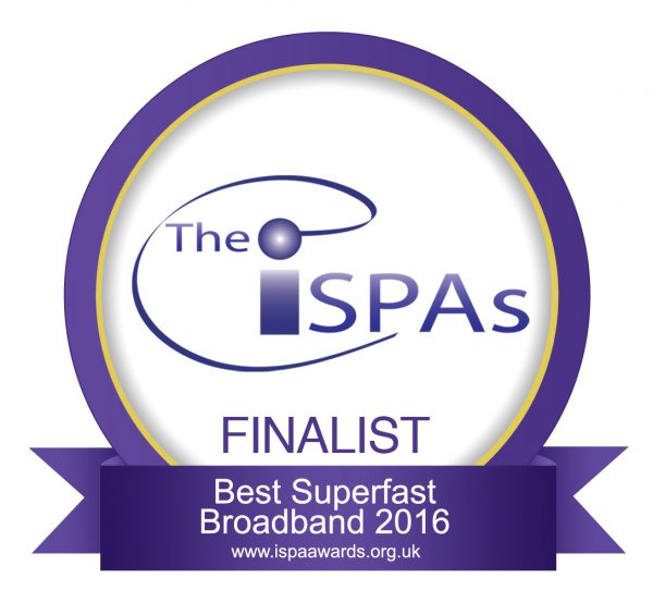 ISPA - Best Superfast Broadband 2016