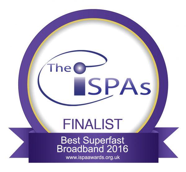 ISPA - Best Superfast Broadband 2016