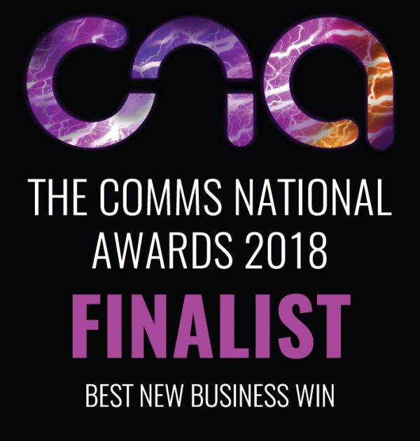 The Comms National Awards 2018 - Best New Business Win