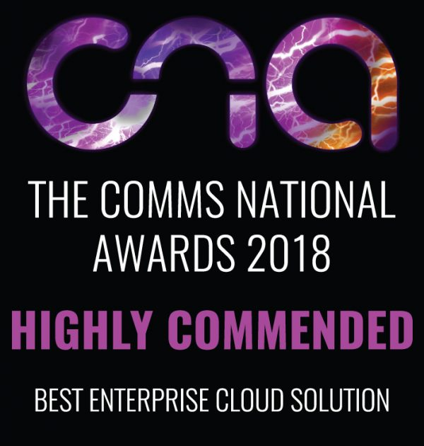 The Comms National Awards 2018 - Best Enterprise Cloud Solution