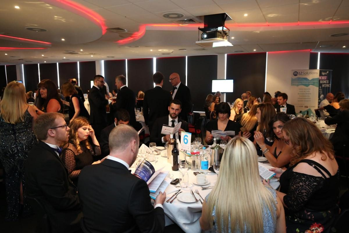 M12 Solutions Sponsor South Coast Business Awards Innovation Service Excellence