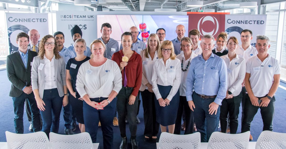 M12 Giganet Team 2019 INEOS Company Day Connected
