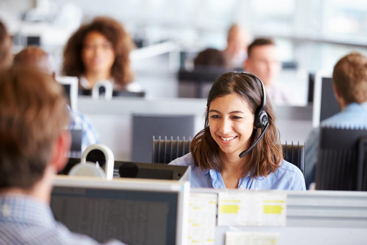 UK telecoms office environment