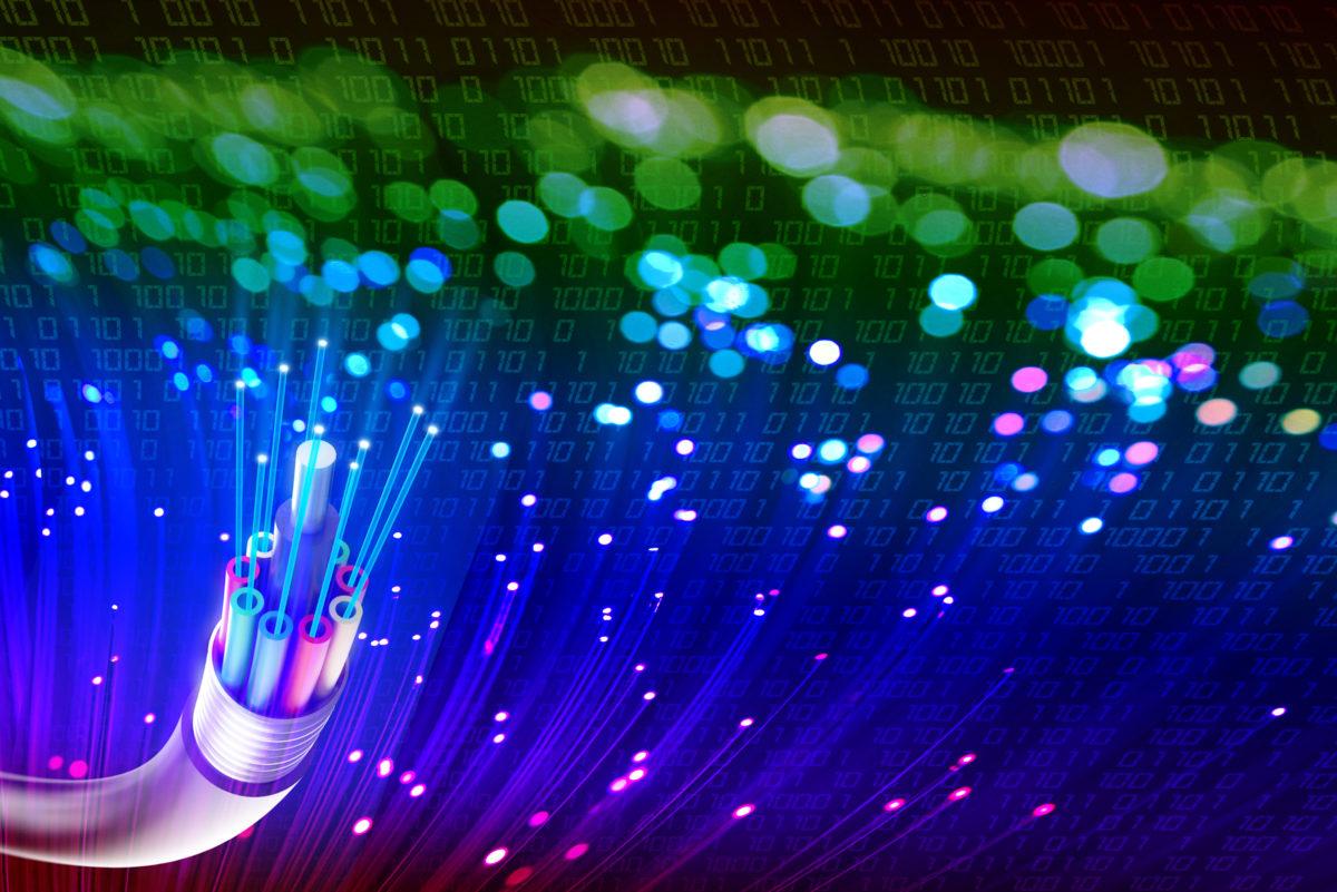 Fibre light for UK Telecom