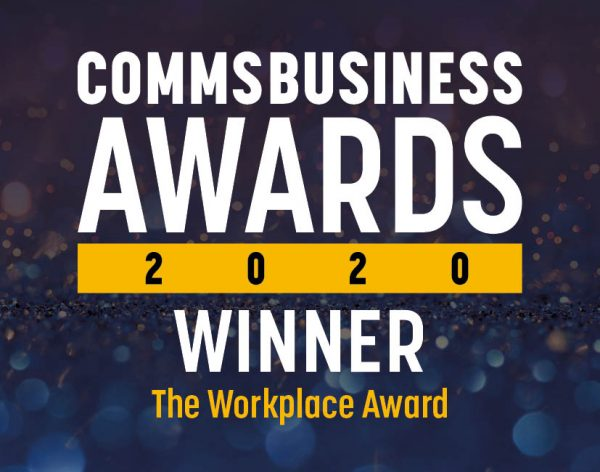 Comms Business Awards - The Workplace Award