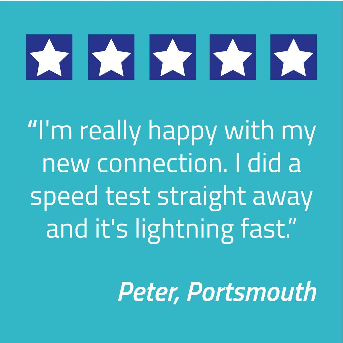 100th customer Portsmouth